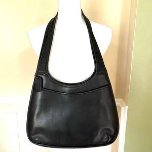VINTAGE RARE Coach Black Ergo Large Shopper Bag